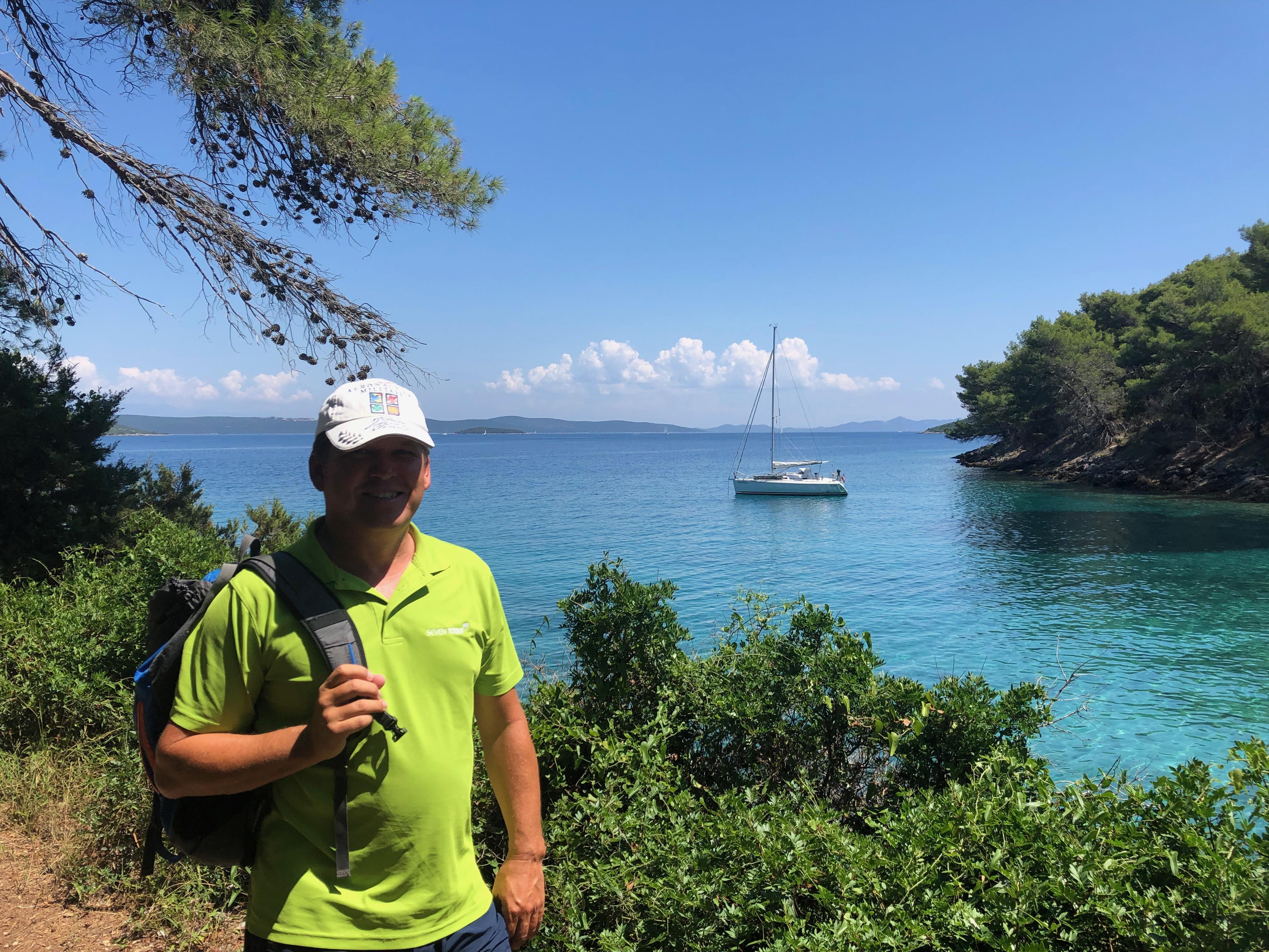 Christian und seine Santuzza in Kroatien