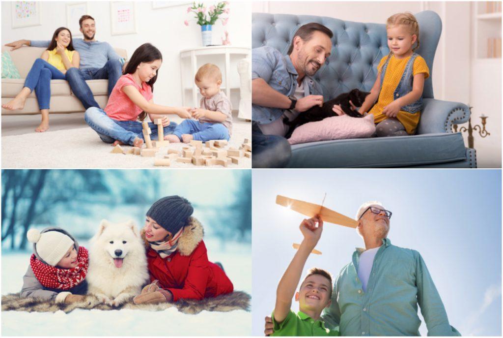 Das Familienleben genießen
